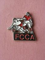 PIN´S  F.C.C.A - Corse , Football (912) - Football