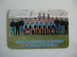 Cycling/Cyclisme Equipa Profissional da La Pecol Malveira Portuguese Pocket Calendar 1998/1999