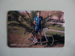 Cycling/Cyclisme M�rio Rui Silva Portuguese Pocket Calendar 1997