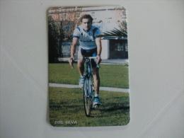 Cycling/Cyclisme Luis Silva Portuguese Pocket Calendar 1997