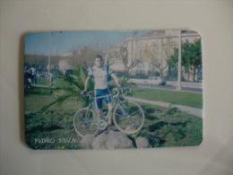 Cycling/Cyclisme Pedro Silva Portuguese Pocket Calendar 1997