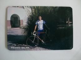Cycling/Cyclisme Pedro Silva Portuguese Pocket Calendar 1996