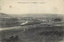 Depts Div-haute Marne-T961- Environs De Bourmont -saint Thiebault -st Thiebault - Train Ligne De Chemin De Fer - - Frankreich