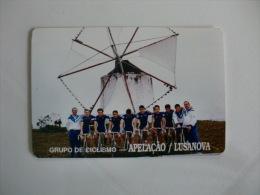 Cycling/Cyclisme Mill Molin Grupo de Ciclismo Apela��o Lusanova Portuguese Pocket Calendar 1994