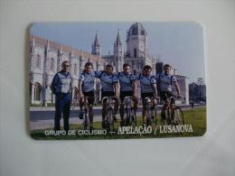 Cycling/Cyclisme Grupo de Ciclismo Apela��o Lusanova Portuguese Pocket Calendar 1994