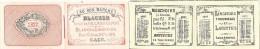 CAEN  -  Petit Calendrier   AU BON MARCHE  - 1877  -  Complet des 12 mois