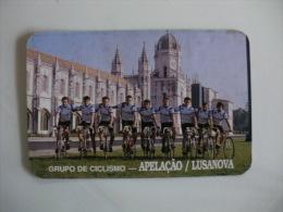 Cycling/Cyclisme Grupo de Ciclismo Apela��o Lusanova Portuguese Pocket Calendar 1993