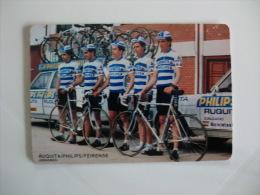 Cycling/Cyclisme Equipa S�nior do Ruquita Philips Feirense Portuguese Pocket Calendar 1989