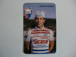 Cycling/Cyclisme Sicasal Joaquim GomesPortuguese Pocket Calendar 1989