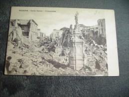 Cpa Guerre 1914 1915 Messina Corso Cavour Immacolata. - Messina