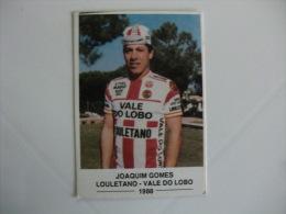 Cycling/Cyclisme Joaquim Gomes Louletano-Vale do Lobo Portuguese Pocket Calendar 1988/1989