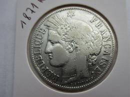 Frankrijk 5 Francs, 1871 K - Frankrijk