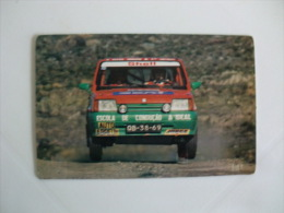 Rally Seat Portuguese Pocket Calendar 1993