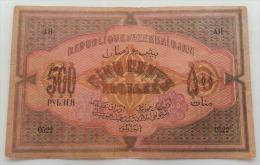 Azerbaigian 500 Rubles 1920