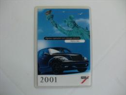 Spies Hecker Portugal Portuguese Pocket Calendar 2001