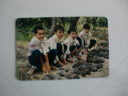 Scouts A-dos-Cunhados Portugal Portuguese Pocket Calendar 1995