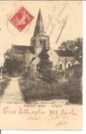 BEAURIEUX  L'église  ETAT  Crayon Rouge !! - France