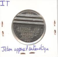 Italie - Jeton Appareil Automatique - Italie