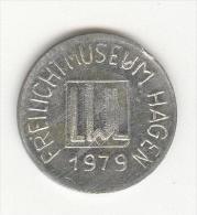Allemagne - Jeton Freilichtmuseum 1979 - Allemagne