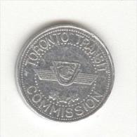 Canada - Jeton De Métro / Subway Token Toronto - Tokens & Medals