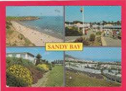 Multi View Of, Sandy Bay, Devon, England, Posted With Stamp U26. - Angleterre