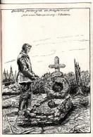 Deutsches Heldengrab-Friedhof-Cimetière Militaire-Priesterwald-Bois Le Prêtre-Meuse-Meurthe Et Moselle-Argonne-Dessin - Cimiteri Militari