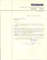 SABADELL  TEXMUN  Materias Textiles Mundiales    30.08.1963 - Espagne