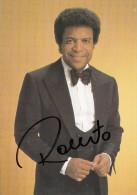 ROBERTO BLANCO  - Autographe / Dedicace - Originalautogramm - Autographes