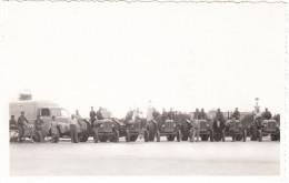 TRACTOR PARADE (Real Photo Postcard 'Gevaert') - Tractors