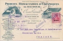 Post�berwachungs-stelle / BAUDOUR naar MANAGE 21 X 19(17) / PRODUITS REFRACTAIRES & CERAMIQUES de BAUDOUR