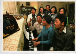 Chine China Postcard, Shanghai, Hospitable Citizens In World Expo Families - Chine