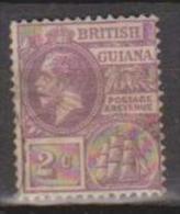 British Guiana, 1921, SG 274, Used (Wmk Mult Script Crown CA) - British Guiana (...-1966)