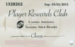 Slotcard / Casinokarte / Playerscard - Casino ARIZONA TALKING STICK RESORT - Scottsdale Arizona