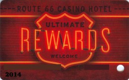 Slotcard / Casinokarte / Playerscard - Route 66 Casino - Albuquerque, New Mexico