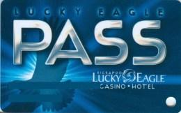 Slotcard / Casinokarte / Playerscard - Lucky Eagle Casino - Kickapoo, Texas