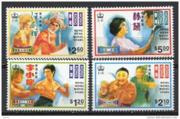 China Chine : (59) 1995 Hong Kong - Star De Cinéma De Hong Kong SG 812/5** - 1997-... Sonderverwaltungszone Der China