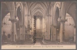 59---ANNOEULLIN--Interieur De L'Eglise Saint Martin-- - France