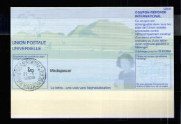 7216 IRC IAS CRI - International Reply Coupon - Antwortschein T31 Madagascar Madagaskar MG20030612AB