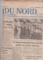 LOT DE 27 EXEMPLAIRES : LA VOIX DU NORD DU 6 SEPT 1945 AU 3 OCT 1945