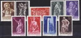Roumanie 1961 - Yv.no.1760-8 Neufs** - 1948-.... Republics
