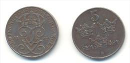 SVEZIA 5 ORE ANNO 1942 - Schweden