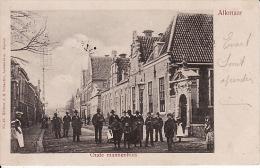 2091  154Alkmaar, Oude Mannenhuis 1902 (duidelijke Stempel Op Zegel) - Alkmaar