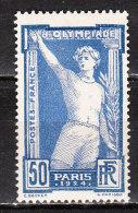 186*  Jeux Olympiques De Paris - MH* - LUXE!!!! - France