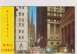NEW YORK - WALL STREET - VIEW OF THE WORLD RENOWNED FINANCIAL DISTRIET... - état Voir Descriptif - Wall Street