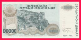 KNIN 100 000 000 DIN 1993 P-R - Croatie