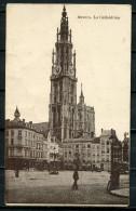 """CPA S/w AK Belgien Antwerpen 1916 Allemagne Feldpost """"Antwerpen-La-cathedralembelebt  """" 1 AK Used - Antwerpen"""