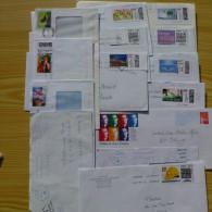 LOT DE 125 ENVELOPPES FRANCAISES DIVERSES - Poststempel (Briefe)