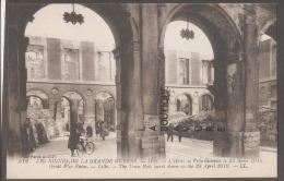 59--LILLE-L'Hotel De Ville Incendié Le 24 Avril 1916--Ruines Grande Guerre WW1-animé - Lille