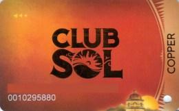 Slotcard / Casinokarte / Playerscard - Casino del Sol - Tucson, Arizona