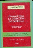 """""""LA DIRECCIÓN DE EMPRESAS"""" AUTOR LORENZ & LESLIE EDIT.FOLIO AÑO 1994 PAG.255 NUEVO TAPAS RIGIDAS GECKO. - Economie & Business"""